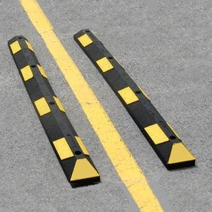 garage parking stops clearance bars  speed bumps