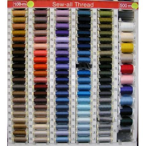 gutermann thread colors gutermann sew all thread