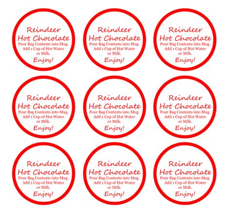 reindeer hot chocolate fun diy gift idea