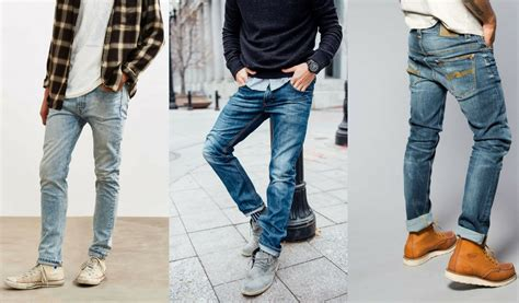 Types Of Jeans For Men With Different