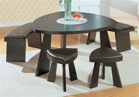 lazy susan with leather concept of contemporary dining room sets