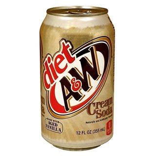 There are a few ways to make the dirty diet coke, but this is the most convenient for me. A&W Diet Cream Soda, 1,59