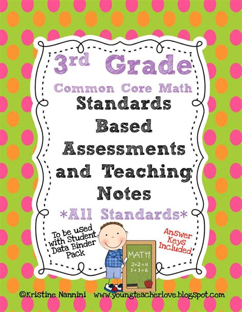 Math Assessment Test For 3rd Graders  Fractions Ccss 3 Nf 1 2 Assessment Test Pre Math A