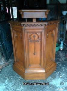 Used Vintage Church Pulpits