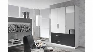 Kleiderschrank Weiß Grau : kleiderschrank alvor schrank in wei grau metallic mit spiegel 136 cm ~ Buech-reservation.com Haus und Dekorationen