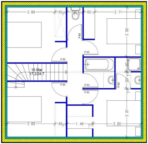 isolation phonique entre 2 chambres votre avis plan de maison 122m2 avec suite parentale 122