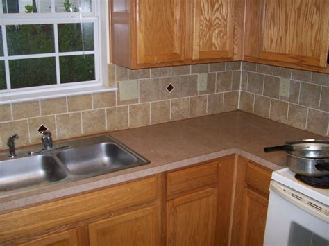 Elegant Stick On Kitchen Backsplash  Gl Kitchen Design