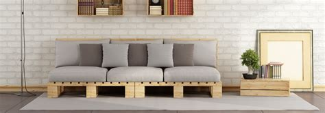 canapé en palette en bois diy comment fabriquer un canapé en palettes de bois