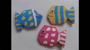 Bricolage Facile En Papier : bricolage facile faire de mignons poissons avec rouleaux ~ Mglfilm.com Idées de Décoration
