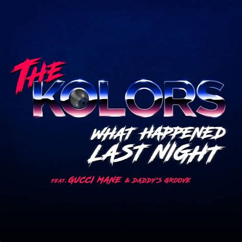 kolors  happened  night video testo