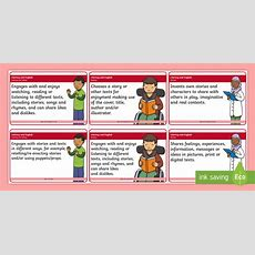 * New * Cfe Benchmarks Early Level Literacy And English Display Cards