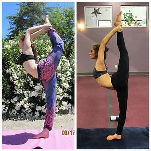 Before & After: How to do Dancer's Pose. | elephant journal