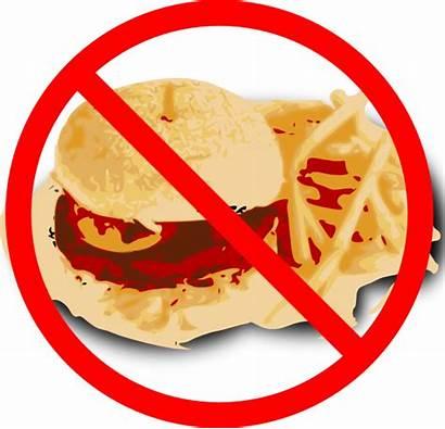 Diet Icon Clip Clipart Junk Fast Unhealthy