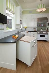 amenager une petite cuisine 40 idees pour le design With meuble cuisine petit espace