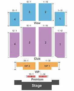 Emerald Queen Casino Seating Chart Tacoma