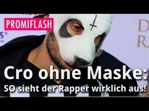 aus der steckdose ohne vertrag cro ohne maske so sieht der rapper wirklich aus