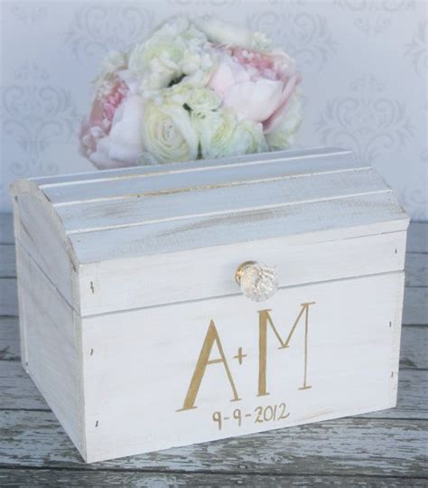shabby chic wedding card box ideas wedding card box vintage shabby chic wedding decor 2158828 weddbook