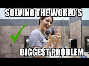 SOLVING THE WORLD'S BIGGEST PROBLEM! - YouTube