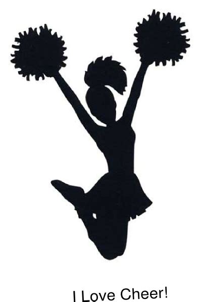 cheerleading clipart i cheer clip at clker vector clip
