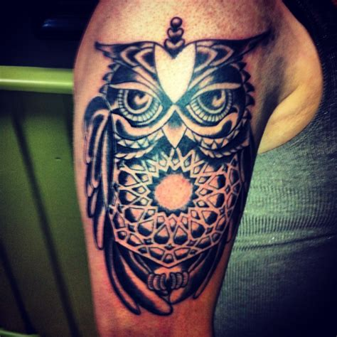 Decorative Injections Athens Ohio owl done by aaron creamer at decorative injections