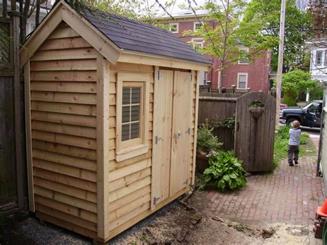 4x8 Wood Storage Shed by Echo Neck Yard Solutions Photo Gallery 2