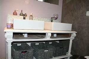 salle de bain style romantique solutions pour la With meuble salle de bain romantique