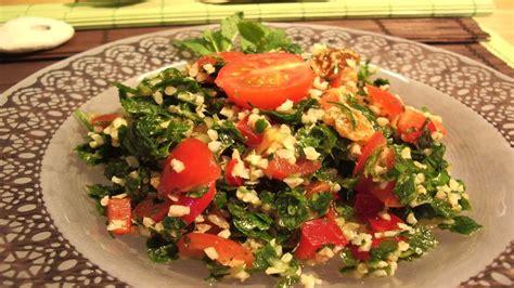 cuisine libanais recette rapide le taboulé libanais fastgoodcuisine
