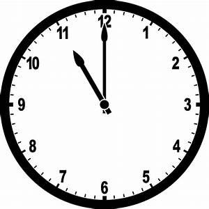 Clock 11 00