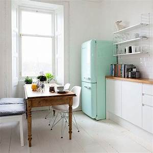 20 retro smeg fridges for small kitchens home design and With kitchen colors with white cabinets with katowice 2014 stickers
