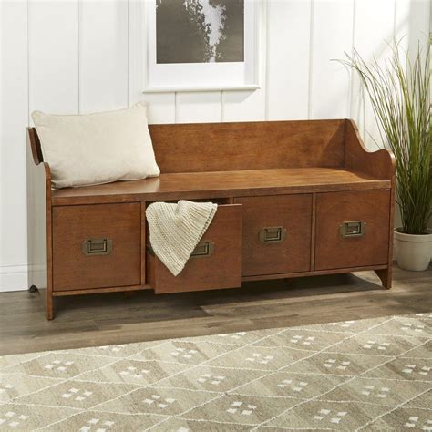 Living Spaces Storage Bench by Edwards 4 Drawer Storage Bench In 2019 Apartment