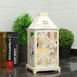 Christmas, Lantern, Led, Candles, With, Timer, Battery, Operated, Decorative, Christmas, Vintage, Tree