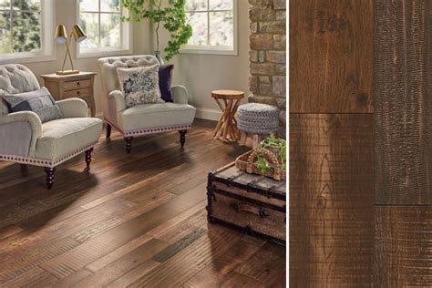 Distressed Wood Flooring   Armstrong Flooring Residential