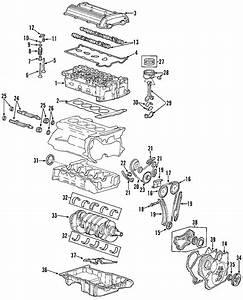 Pontiac Sunfire Engine Rocker Arm  Bearings  Camshaft  Cylinder