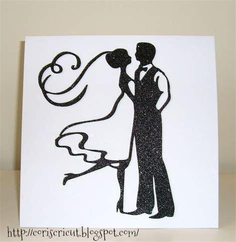 bride groom nice stencil  silhouette  bride