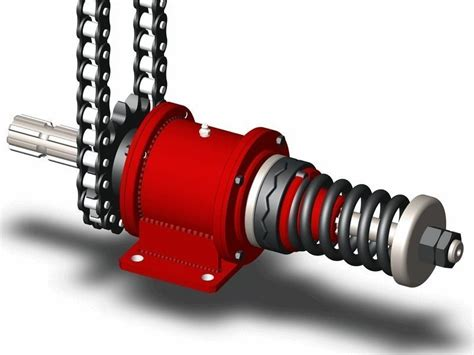 drive shaft  safety coupling  cgtrader