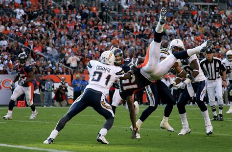 Brandon Marshall In San Diego Chargers V Denver Broncos