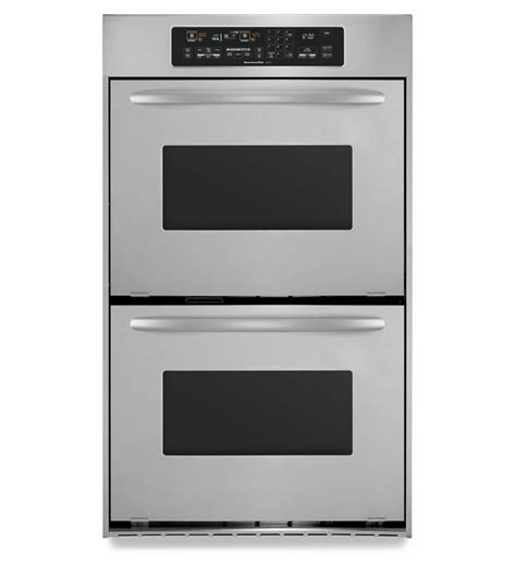 kitchenaid   convection double wall oven architect