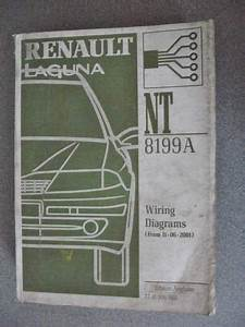 Renault Laguna Wiring Diagrams Manual 2001 7711306562