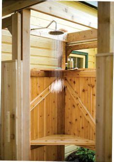 plans to build an outdoor bathroom free outdoor shower wood plans diy wood