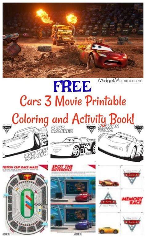 cars   printable coloring pages  activity book midgetmomma