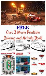 free cars 3 printable coloring pages and activity