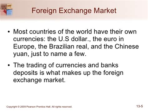 foreign exchange market trading chapter 13 the foreign exchange market