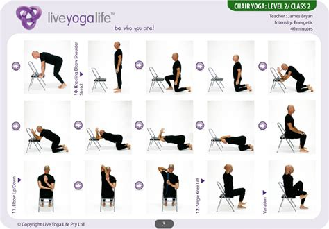 chair yoga poses images