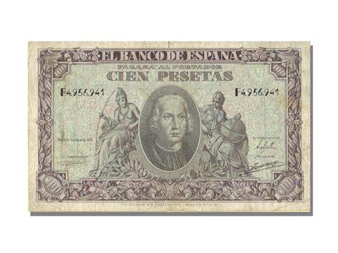what letter of the alphabet is s billets espagne banknotes spain espagne 100 pesetas 52634