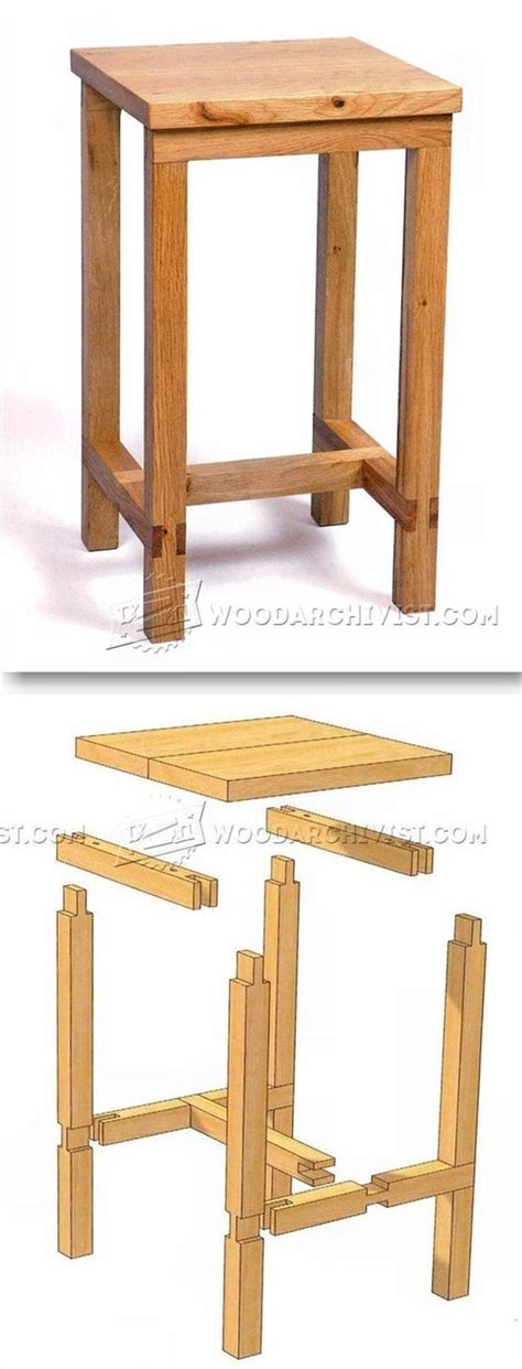 ideas  workbench stool  pinterest kitchen step stool    workshop