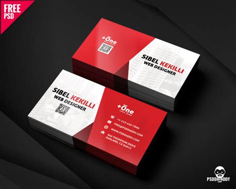 corporate business card psd psddaddycom