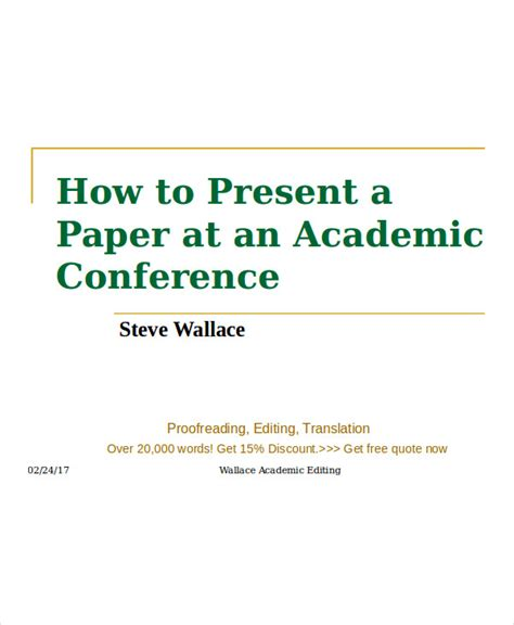 Conference Presentation Template Ppt by Conference Presentation Template Skillzmatic