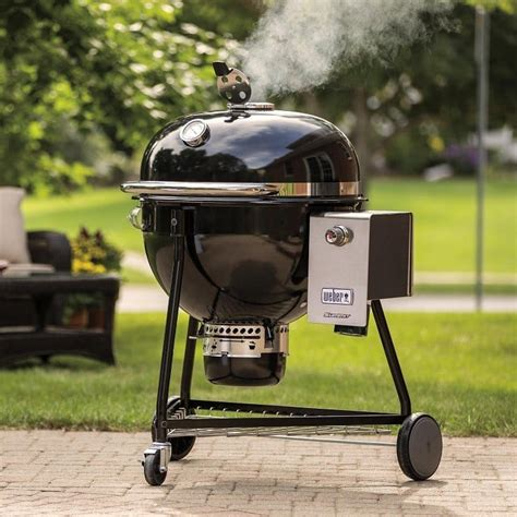 grill charcoal weber inch summit bbq grills smokers freestanding center grilling tweet guys gear
