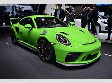 Genf 2018 LiveFotos vom Porsche 911 GT3 RS 9912