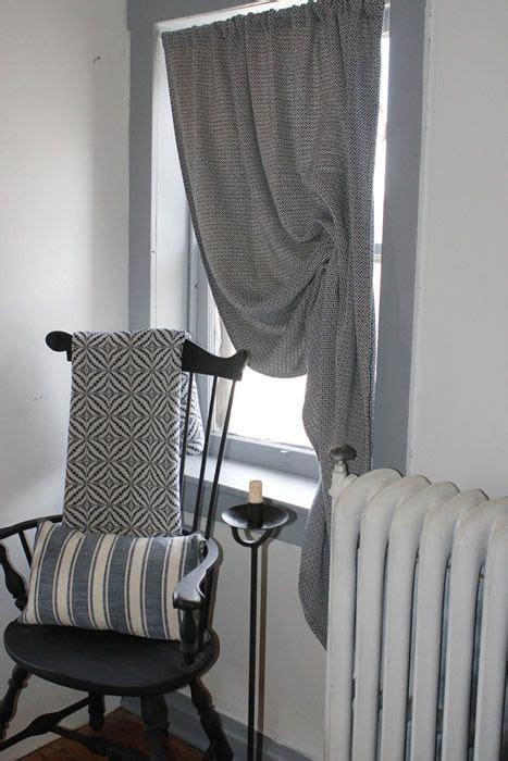 curtain panel festoon historic textiles heirloom bedding